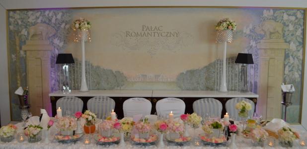 Uroczystość w Pałacu Romantycznym .