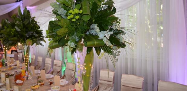 Zielony ślub. Zielone wesele.